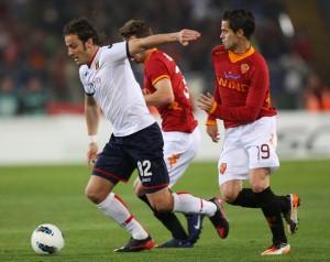 مباراة روما وجنوى