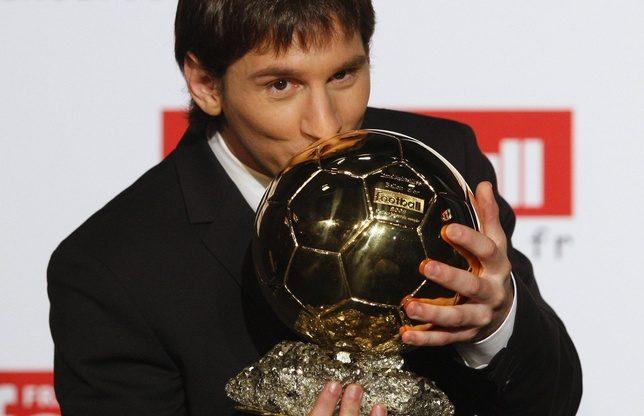 ليونيل ميسي - خمس مرات كرة ذهبية