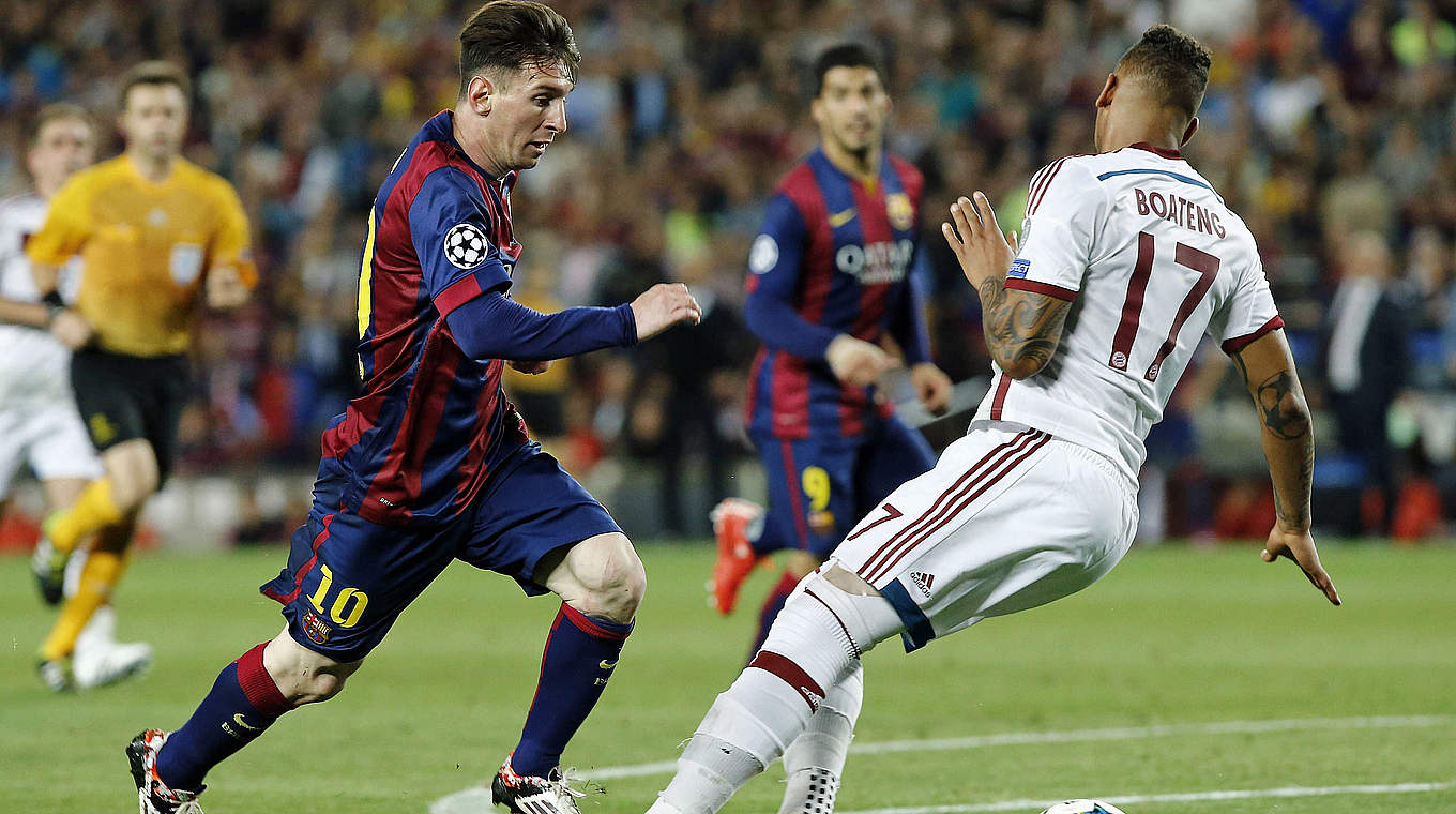 Lionel Messi - Jerome Boateng
