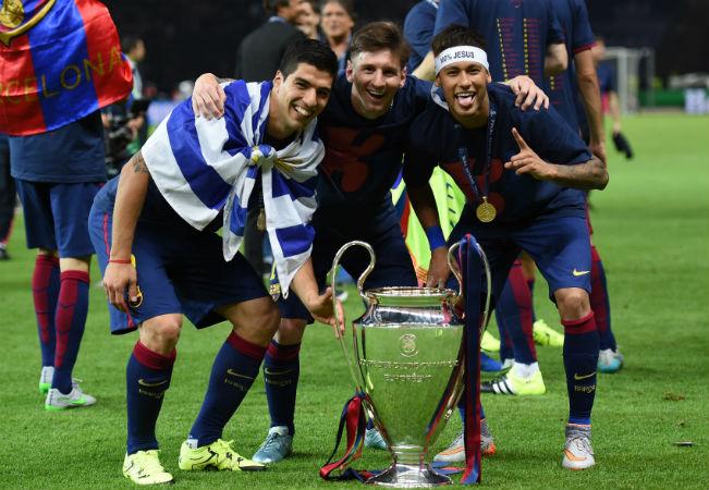 Luis Suarez - Lionel Messi - Neymar