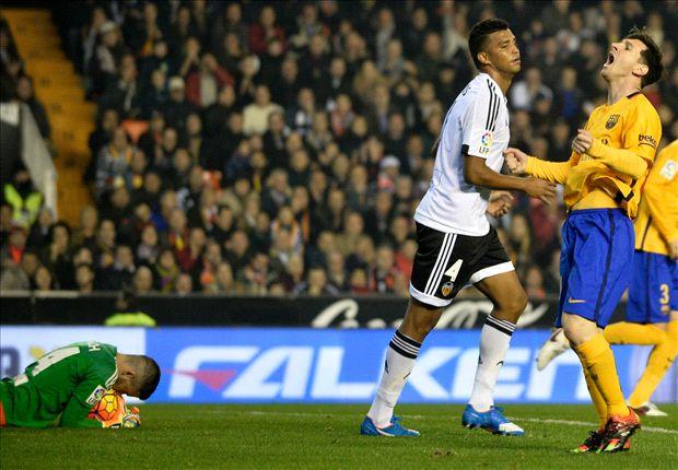 Messi vs valencia away
