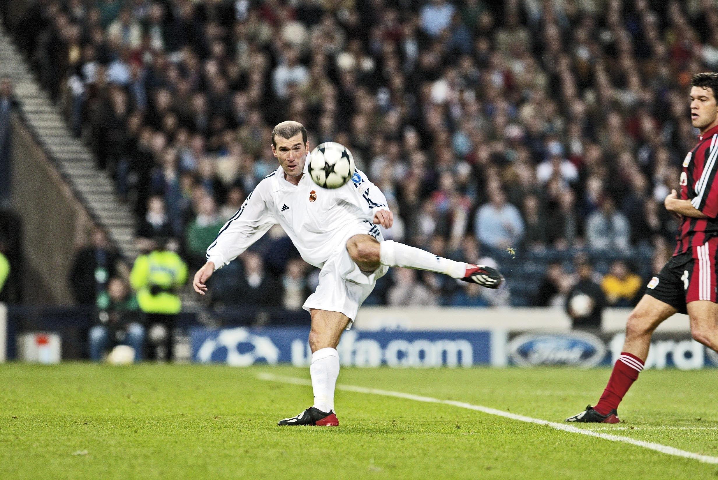 Zinedine Zidane - Michael Ballack