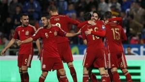 spanish goal